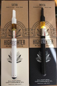 """CBD Vape Pens """"Highlighter cannabis vapor pens by Bloom Farms """" - these are perfection Cannabis Edibles, Thc Oil, Cannabis Shop, Alcohol, Puff And Pass, Stoner Girl, Medical Marijuana, Weed, Smoking Weed"""