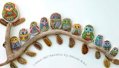 How To Paint Owl Pebbles