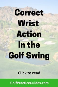 Learn how to use your wrists properly in the golf swing #golf Golf Practice, Golf Instruction, In The Hole, Golf Lessons, Golf Outfit, Golf Tips, Improve Yourself, How To Become, Action