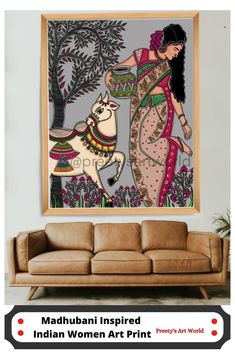 Madhubani Paintings Peacock, Madhubani Art, Indian Art Paintings, Gond Painting, Mural Painting, Mural Art, Rajasthani Painting, Indian Art Gallery, Art Drawings Beautiful