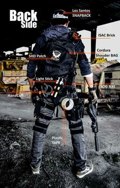The División gear tactical