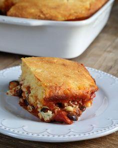 #Glutenfree #Tamale #Pie #recipe #dinner #eating #baking #cooking #yum #homemade #GF #Austin #ATX #Texas #TX #brainbalance #addressthecause #afterschoolprogram http://glutenfreeonashoestring.com/gluten-free-tamale-pie/