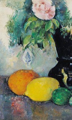 Titre de l'image : Paul Cézanne - Flowers and fruits, c.1880 (see also 287552)