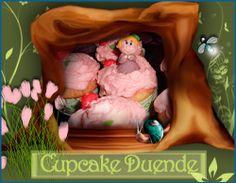 Cupcake Duende. http://ljardindelasdelicias.blogspot.com.es/2013/12/todas-nuestras-tartas.html