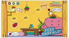 Free for limited time: Feed Garfield - physics based game for everyone