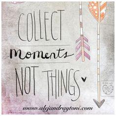 Nos encanta coleccionar momentos como el de hoy, momentos increíbles con personas increíbles...pues las cosas un día desaparecen, pero los buenos momentos se quedan en el corazón...