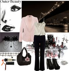 """""""Outer Beauty"""" by constance1964 on Polyvore"""