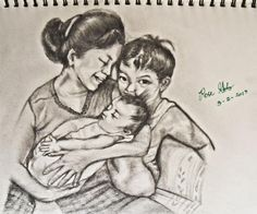 Grandmas Love - Sketching by Liloth Gob in Sketches at touchtalent 58653