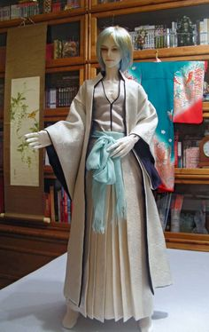 BJD hakama sewing commission by InarisansCrafts on Etsy