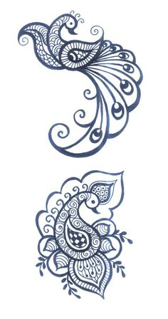 Henna tattoo, otherwise known as Mehndi, is a sort of temporary ink art and is very popular in Middle Eastern and South Asian nations. Conventional henna i Henna Tattoo Designs, Mehandi Designs, Tatto Design, Tatoo Henna, Tatoo Art, Henna Mehndi, Henna Art, Tattoo Ideas, Mandala Tattoo