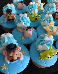 Toy Story cupcakes#Repin By:Pinterest++ for iPad#