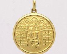 Pingente Nossa Senhora da Esperança Ouro Amarelo 18k 750