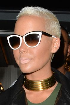 Amber Rose's Hairstyles & Hair Colors | Steal Her Style