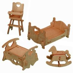 3-D Wooden Puzzle - Dollhouse Bedroom Furniture Set -Affordable Gift for your Little One! Item #DCHI-WPZ-P010 All4LessShop,http://www.amazon.com/dp/B004QDPK1Q/ref=cm_sw_r_pi_dp_f7a6sb1S7C70MY17