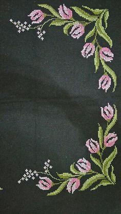 Cross Stitch Borders, Cross Stitch Flowers, Cross Stitch Patterns, Crochet Stitches, Embroidery Stitches, Embroidery Patterns, Baby Knitting Patterns, Crochet Patterns, Pixel Crochet