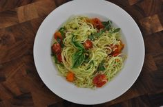 It's that time of year again…the garden is overflowing with zucchini, cherry tomatoes, sweet peppers and basil! Quite possibly the tastiest time of year This pasta recipe is my take on Summer Garden Pasta, using zucchini noodles rather than traditional noodles. It's amazing how delicious noodles made from zucchini taste, and how fantastically wholesome and...