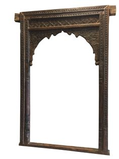 Antique Furniture Architectural Wooden Entrance