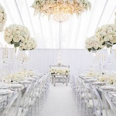 Check out our 25 favorite floral wedding design details that you haven't seen yet! From Floral Archs, Table Centerpieces to Flower Aisles and Reception. Wedding Altars, Tent Wedding, Wedding Reception Decorations, Wedding Venues, Dream Wedding, Garden Wedding, Wedding Services, Tent Decorations, Wedding Stage
