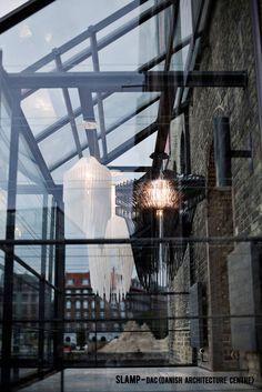 Avia and Aria in the Zaha Hadid's solo exhibition - Danish Architecture Center, Copenhagen