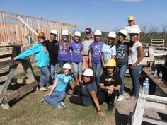 Rouse H.S. Habitat affiliate build day.
