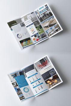 Design a brochure for an International furniture company. by YaseenArt