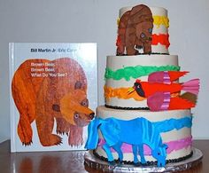 Brown Bear, Brown Bear, What Do You See? By Cake Doodling