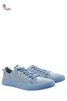 next Femme Baskets Basses À Lacets En Toile Coupe Classique - Chaussures next (*Partner-Link)