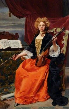 Gustave-Jean Jacquet (French, 1846-1909). Music. Sheffield City Art Galleries