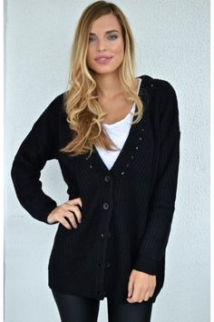 Candy Cardigan (BLACK)