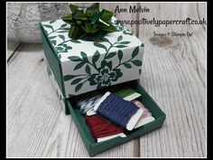 Christmas Easel Card Complete Card & Box Die Set - YouTube