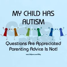 Autism Awareness - Saw it while seeking inspirational quotes! ;)