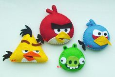 Angry Birds Angry Birds collection Cute Angry by DevelopingToys