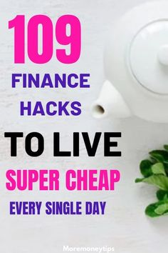 109 Personal Finance Tips to Manage your Money - More Money Tips - Finance tips, saving money, budgeting planner Money Saving Mom, Best Money Saving Tips, Money Tips, Frugal Living Tips, Frugal Tips, Budget Planer, Managing Your Money, Financial Tips, Financial Assistance
