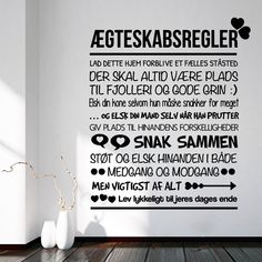 Ægteskabsregler wallsticker Sign Quotes, Love Quotes, Inspirational Quotes, Great Words, Wise Words, Sarcastic Quotes, Quote Prints, Life Inspiration, Live Life
