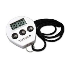 #FeedtheChildren TAYLOR COMMERCIAL CHEF`S TIMER AND STOP WATCH FEATURE MODEL#5816 CHEF`S TIMER EASY TO READ DISPLAY RECALL FEATURE SHOWS MINUTES AND SECONDS AND...