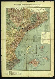 Mapa Urbanístic De Catalunya.Historical Maps Of Catalonia