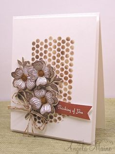 IC424 Giraffe Blossoms by Arizona Maine - Cards and Paper Crafts at Splitcoaststampers