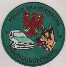 Brandenburg, Germany Police K9 patch