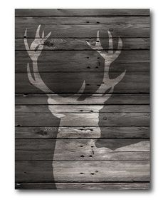 Look what I found on #zulily! Buck Wrapped Canvas #zulilyfinds