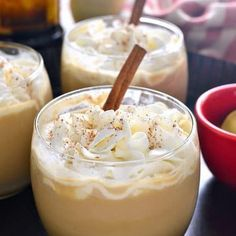 Eggnog Mudslides are a delicious holiday twist on a classic cocktail! The perfect addition to all your holiday celebrations! I was talking with my mom this morning about Christmas....and the brunch menu....because all of a sudden it's time to start planning! Which is exciting, and scary, and a little bit stressful. But mostly exciting. Because CHRISTMAS!!! Are you ready? I have to admit, when it comes to Christmas with my family, I really do have to brace myself. Not because of conflict o...