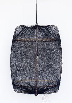 Z1 Black Sisal net lamp by Nelson Sepuvelda by Ay Illuminate — BODIE and FOU - Award-winning inspiring concept store