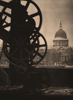 St Paul's from Bankside, London, 1905, Alvin Langdon Coburn