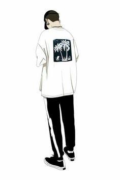 Wallpaper {Cool} + Cover Cerita Wattpad - Cowok Hits - Page 3 - Wattpad Aesthetic Art, Aesthetic Anime, Cover Wattpad, Boy Drawing, Diy Vetement, Illustration Art, Illustrations, Cute Anime Boy, Manga Boy