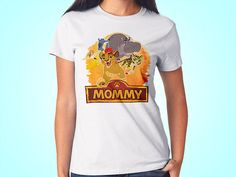 Lion Guard Mommy Birthday Shirt TShirt Mom Family Parent By FunPartyDay On Etsy