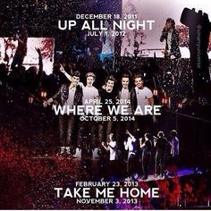 I have been to TMH and I am going to WWA :) I wish I could have been to the UAN concert but I sadly could not go