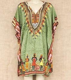 Kaftan africano com motivos tribais cores lindas para quem ama moda étnica.  Por R$ 4990  Saiba mais e conheça outros modelos. Envie mensagem para nós no whatsapp: 13 982166299  #kaftan #africa #modaetnica #boho #cultural