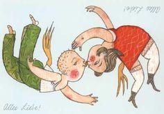 Alles is Liefde. Selda Soganci. Postkaart