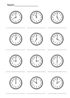 canada only easy cd creator Clock Worksheets, Mental Maths Worksheets, School Worksheets, Math Activities, Clock Learning For Kids, Math For Kids, Fun Learning, Math Clock, Learn A New Language