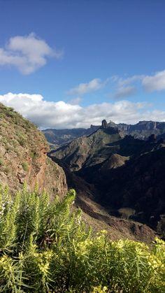 Mountains near Atenara, Gran Canaria