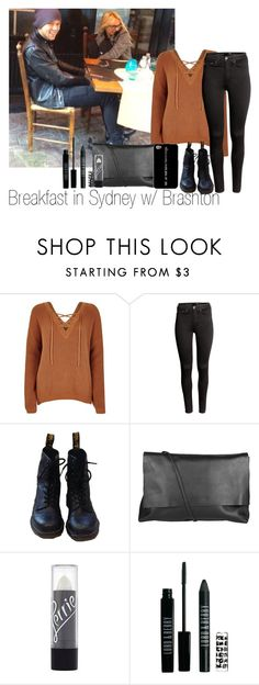 """breakfast w/ Brashton"" by edna-loves-1d ❤ liked on Polyvore featuring River Island, H&M, Dr. Martens, Arlington Milne and Lord & Berry"
